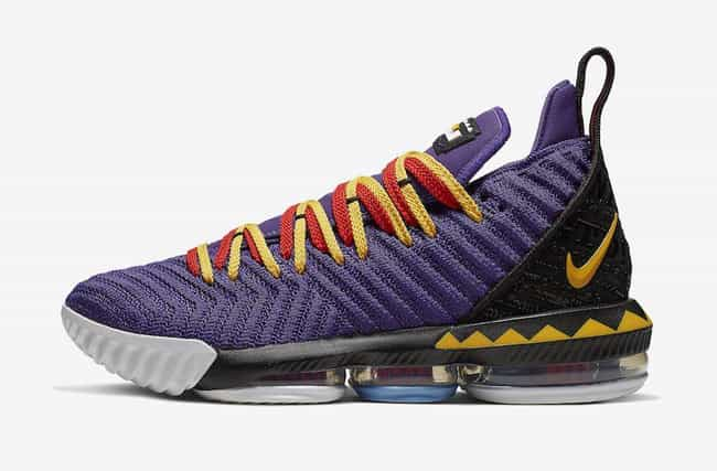 Nike LeBron 16 is listed (or ranked) 3 on the list The Coolest LeBron James Signature Shoes, Ranked