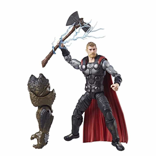 Avengers Marvel Legends Series... is listed (or ranked) 4 on the list The Best Avengers Figures From The Marvel Legends Line
