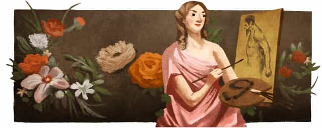 Michaelina Wautier is listed (or ranked) 1181 on the list Every Person Who Has Been Immortalized in a Google Doodle