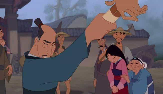 Mulan's Father Was Supposed To... is listed (or ranked) 4 on the list 'Mulan' Fan Theories That Just Might Be True