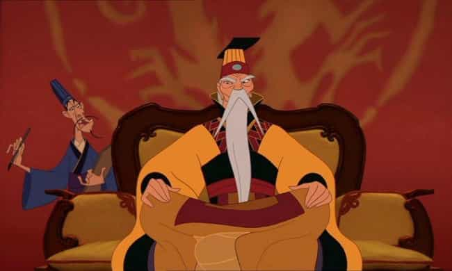 Mushu Saved The Entire Chinese... is listed (or ranked) 4 on the list 'Mulan' Fan Theories That Just Might Be True
