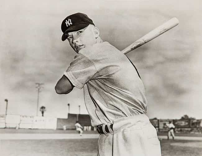 He Was Discovered At 16 And Fa... is listed (or ranked) 3 on the list The Rise And Fall Of Mickey Mantle