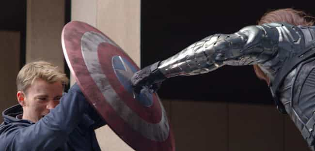Captain America Versus The Win... is listed (or ranked) 4 on the list The Best One-On-One Fights In The MCU, Ranked