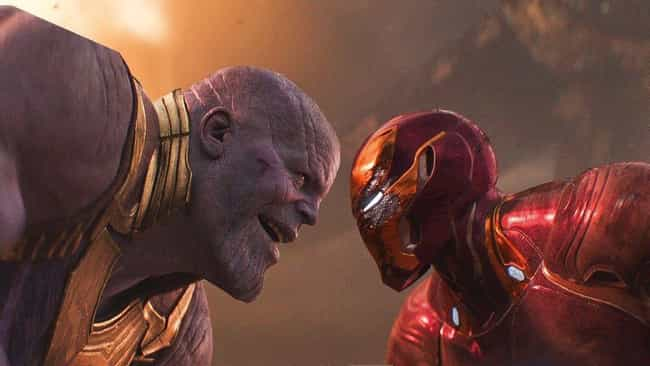 Iron Man Versus Thanos is listed (or ranked) 2 on the list The Best One-On-One Fights In The MCU, Ranked