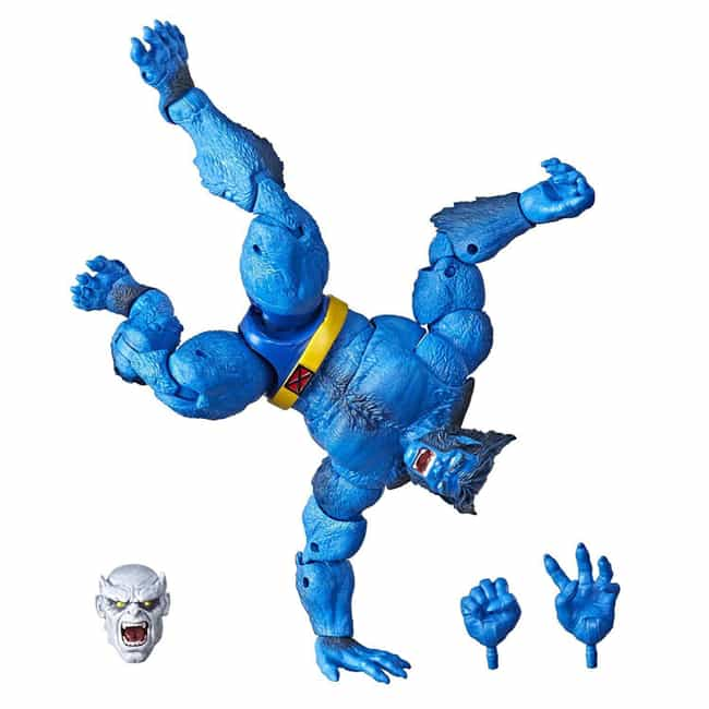 Marvel Hasbro Legends Series 6... is listed (or ranked) 1 on the list The Best X-Men Marvel Legends Figures, Ranked