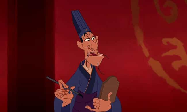Chi-Fu Is A Eunuch is listed (or ranked) 2 on the list 'Mulan' Fan Theories That Just Might Be True