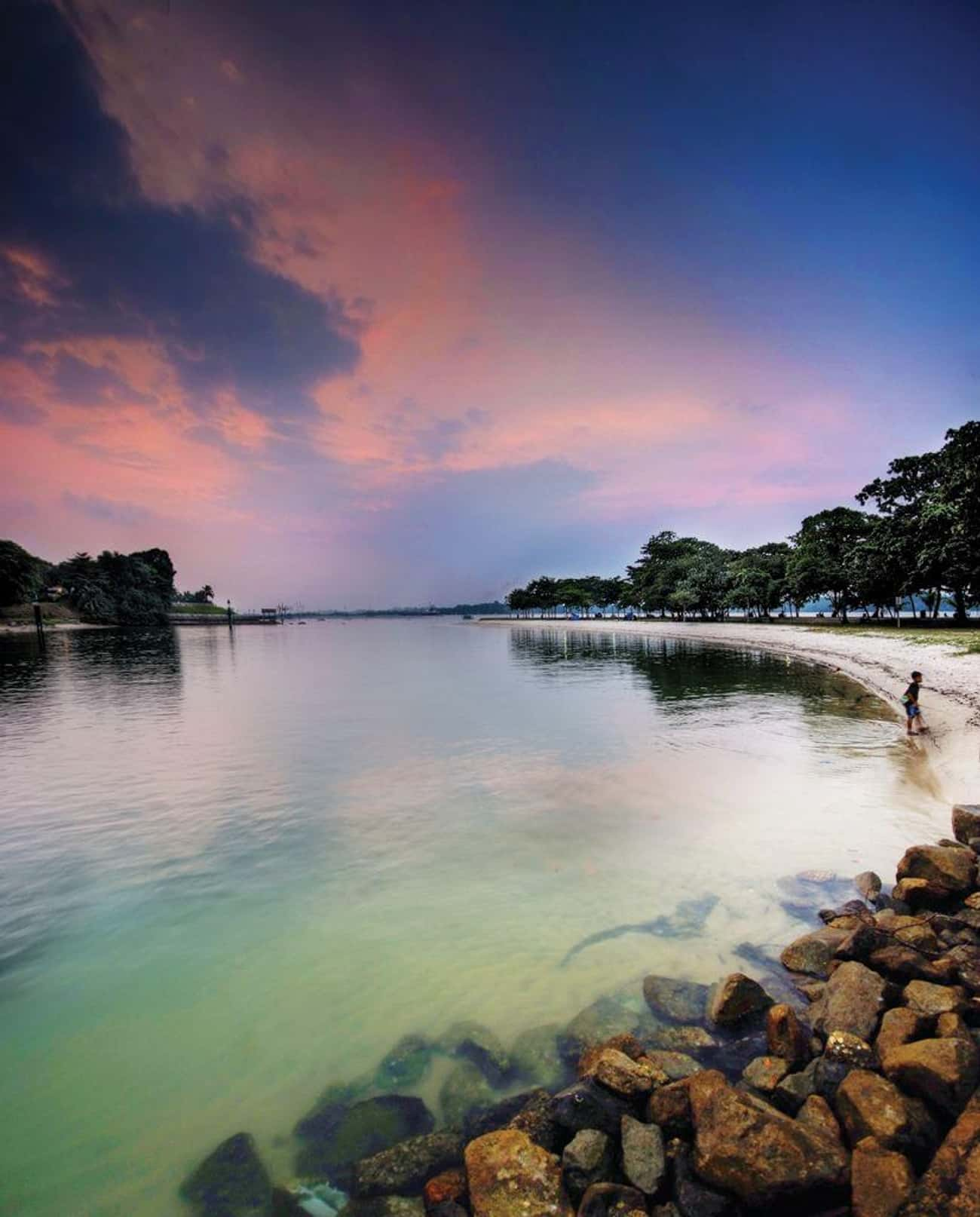 People Hear Screams At Changi  is listed (or ranked) 1 on the list 12 Creepy Stories About Haunted Beaches