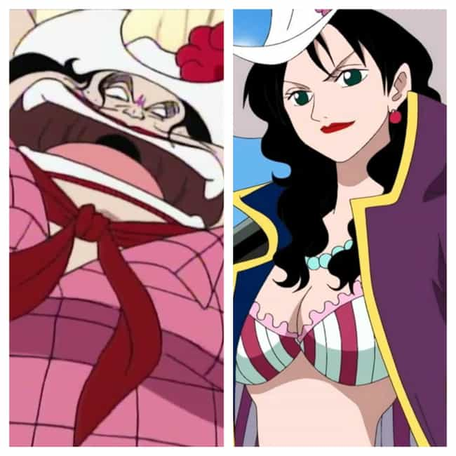 Alvida - 'One Piece' is listed (or ranked) 2 on the list 15 'Ugly Duckling' Anime Characters Who Had Major Glow-Ups