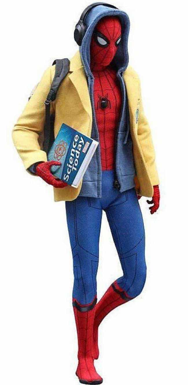 Spider-Man: Homecoming Hot Toy... is listed (or ranked) 3 on the list The Coolest 'Spider-Man: Homecoming' Toys, Gadgets, & Gear