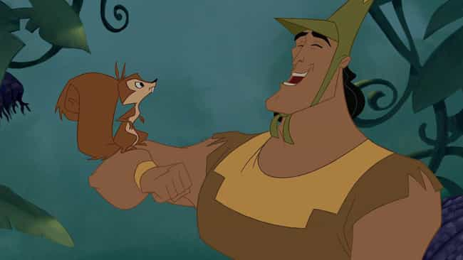 Kronk Was A Squirrel Before Yz... is listed (or ranked) 2 on the list 'The Emperor's New Groove' Fan Theories That Just Might Be True