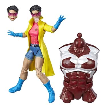 Marvel Hasbro Legends Series 6 is listed (or ranked) 6 on the list The Best X-Men Marvel Legends Figures, Ranked