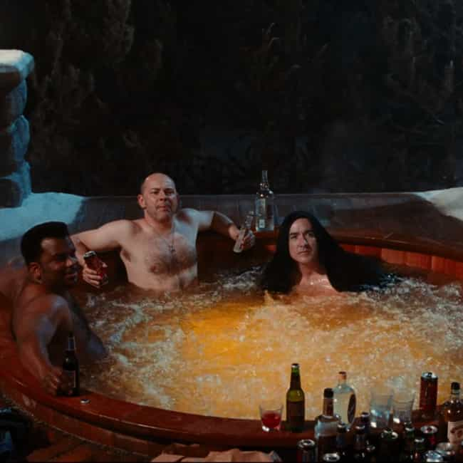 Male Bonding is listed (or ranked) 3 on the list The Most Hilarious Quotes From 'Hot Tub Time Machine'