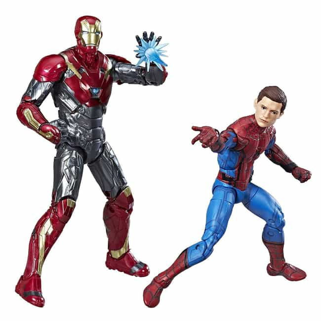 Marvel Legends Spider-Man: Hom... is listed (or ranked) 4 on the list The Coolest 'Spider-Man: Homecoming' Toys, Gadgets, & Gear