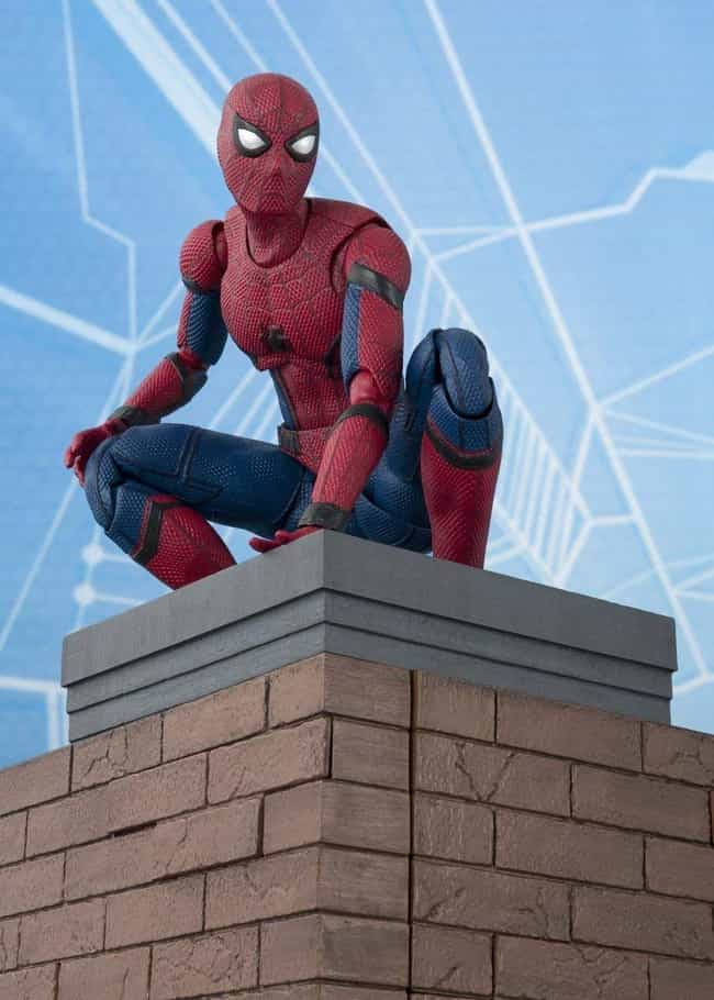Tamashii Nations S.H. Figuarts... is listed (or ranked) 1 on the list The Coolest 'Spider-Man: Homecoming' Toys, Gadgets, & Gear