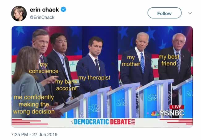 Williamson Is A Relatable Cand... is listed (or ranked) 3 on the list Twitter Reacts To Marianne Williamson At The June 2019 Democratic Debate