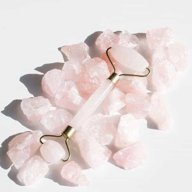 Rose Quartz Face Rollers, a fa... is listed (or ranked) 1 on the list Some Of The Best Skincare Tools We Could Find On Amazon Are Also Kind Of Weird