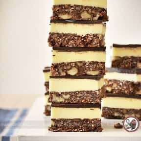 Nanaimo Bars is listed (or ranked) 21 on the list The Best Foods That Are Places