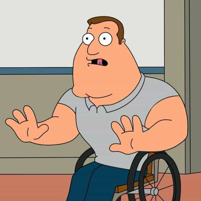 I Brought Construction P... is listed (or ranked) 1 on the list The Best Joe Swanson Quotes From 'Family Guy'