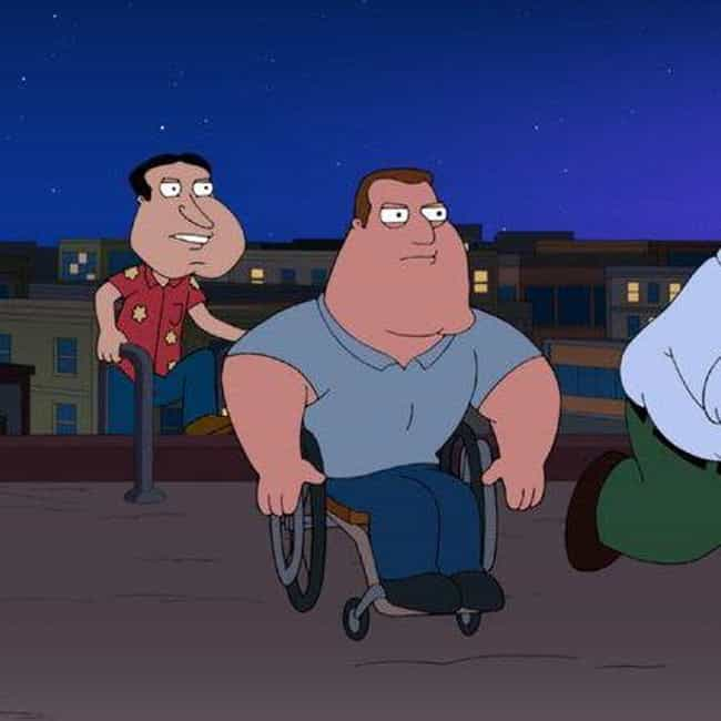 I Lied is listed (or ranked) 2 on the list The Best Joe Swanson Quotes From 'Family Guy'