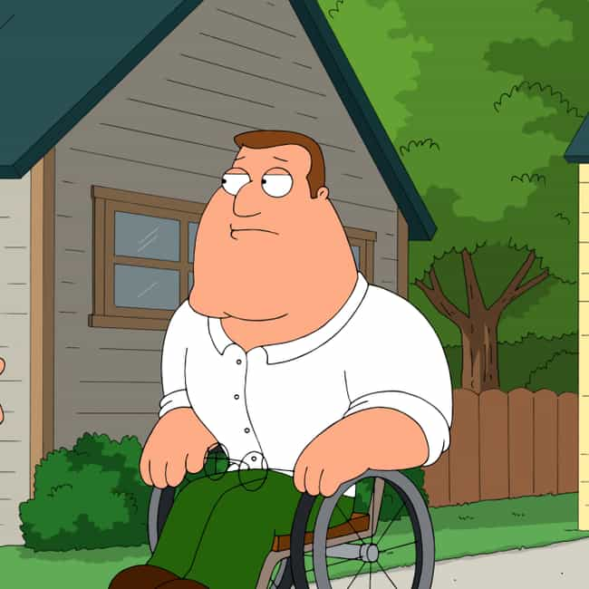 You Did is listed (or ranked) 4 on the list The Best Joe Swanson Quotes From 'Family Guy'