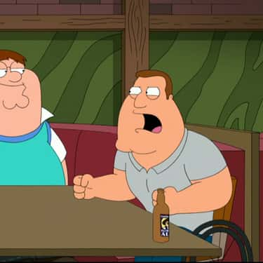 Poop Sack is listed (or ranked) 2 on the list The Best Joe Swanson Quotes From 'Family Guy'