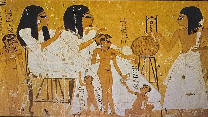 Random Things of Hygiene In Ancient Egypt