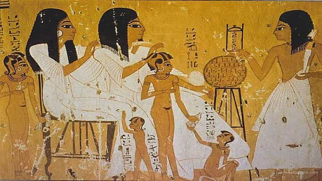 Men And Women Shaved Their He... is listed (or ranked) 1 on the list What Was Hygiene Like In Ancient Egypt?