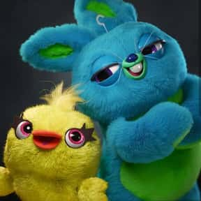 Ducky and Bunny is listed (or ranked) 17 on the list The Best Toy Story Characters in the Whole Series, Ranked