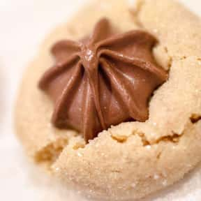 Peanut Butter Blossom is listed (or ranked) 9 on the list The Very Best Types of Cookies, Ranked
