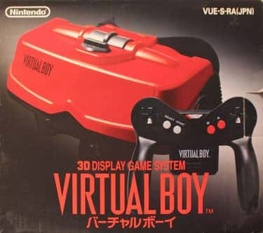 Nintendo Virtual Boy  is listed (or ranked) 1 on the list '90s Toys Whose Commercials Were Way Better Than The Real Thing