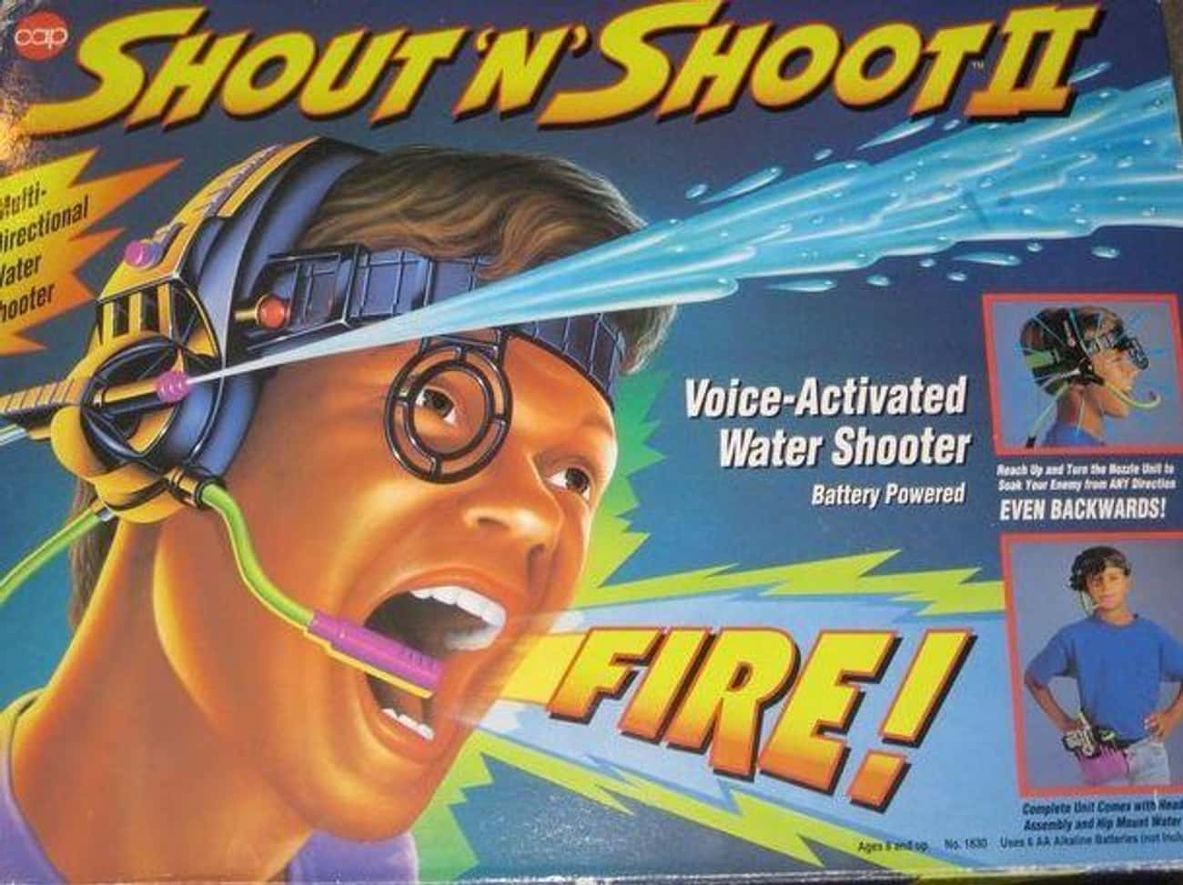Shout 'n' Shoot  is listed (or ranked) 3 on the list '90s Toys Whose Commercials Were Way Better Than The Real Thing