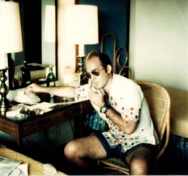 A Breakfast Of Four Bloody Mar is listed (or ranked) 1 on the list Hunter S. Thompson's Daily Drug Regimen