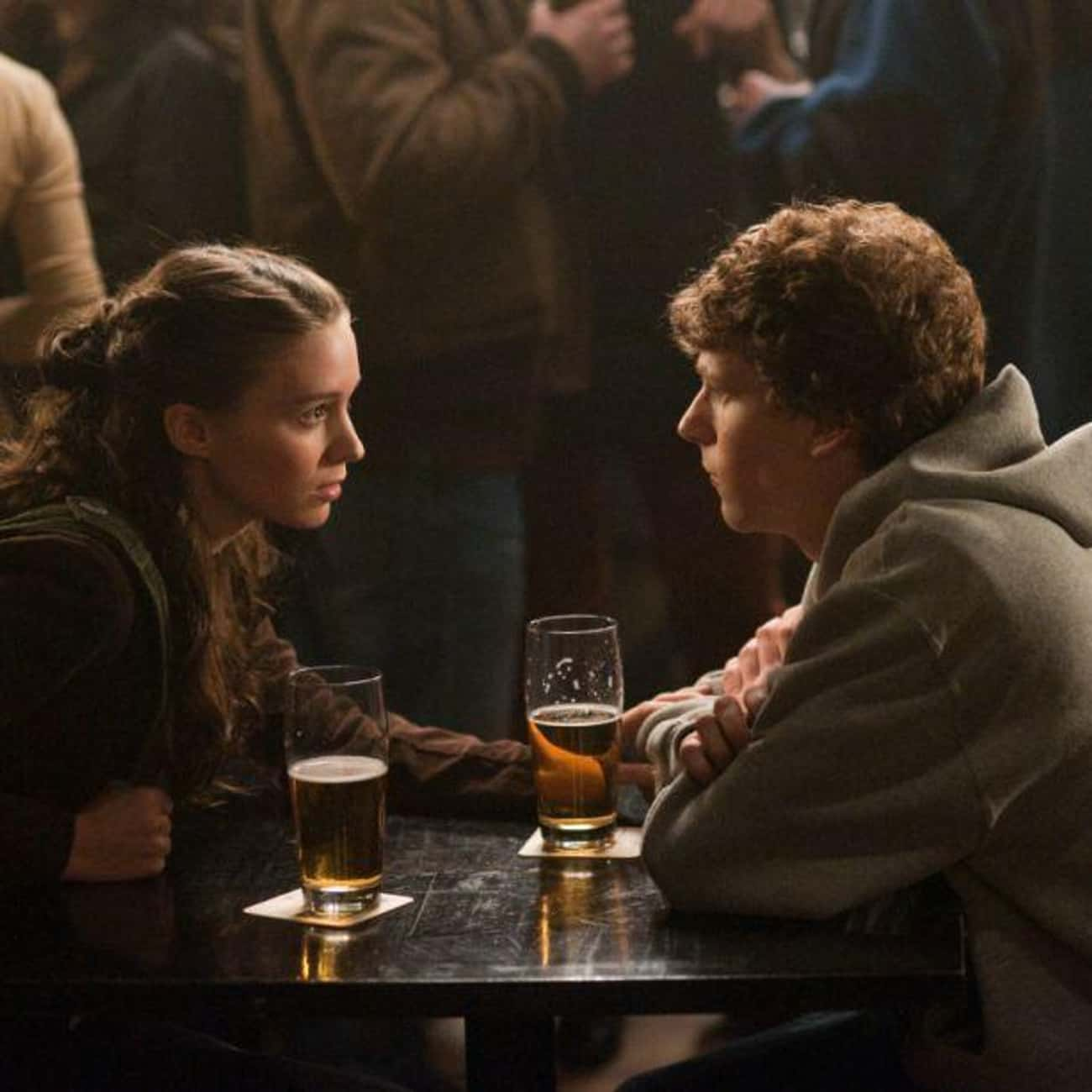 Call Themselves Tall is listed (or ranked) 1 on the list The Most Memorable Quotes From 'The Social Network'