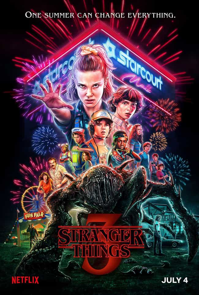 Stranger Things - Season... is listed (or ranked) 1 on the list Ranking The Best Seasons of 'Stranger Things'