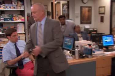 When Creed Steals Dwight's Gun