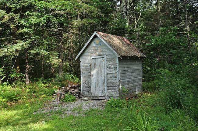 Outhouses Were Home To O... is listed (or ranked) 2 on the list What Was Hygiene Like In The Wild West?