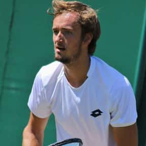 Daniil Medvedev is listed (or ranked) 6 on the list The Best Men's Tennis Players in the World Right Now