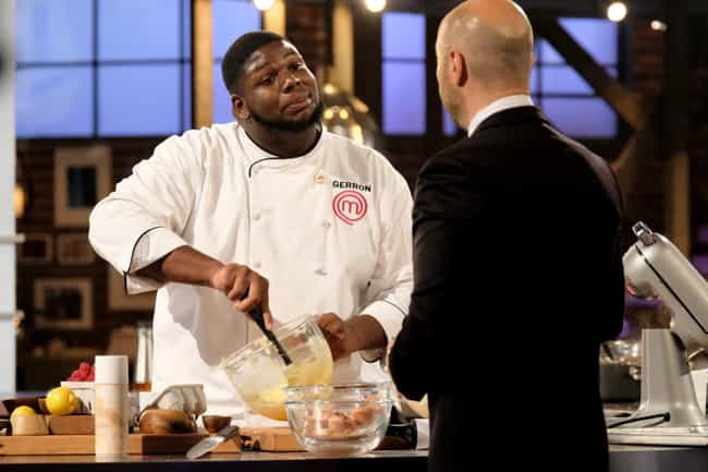 Contestants Go To Cookin... is listed (or ranked) 5 on the list Behind-The-Scenes Stories From The 'MasterChef' Franchise