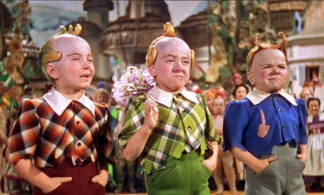 Only White Actors Were Cast As... is listed (or ranked) 2 on the list Behind The Scenes Of Munchkinland In 'The Wizard Of Oz'