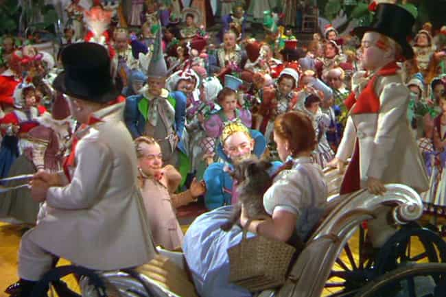 MGM Drove A Bus Full Of 'Munch... is listed (or ranked) 4 on the list Behind The Scenes Of Munchkinland In 'The Wizard Of Oz'