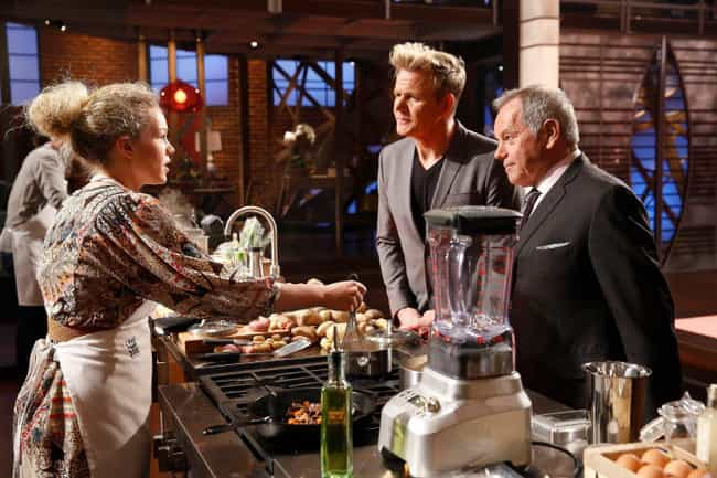 Contestants Can't Use Re... is listed (or ranked) 7 on the list Behind-The-Scenes Stories From The 'MasterChef' Franchise