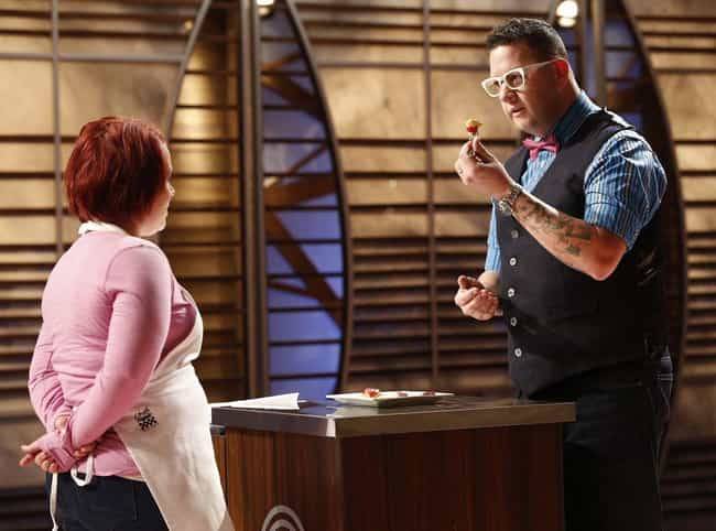 Food The Judges Taste Is... is listed (or ranked) 8 on the list Behind-The-Scenes Stories From The 'MasterChef' Franchise