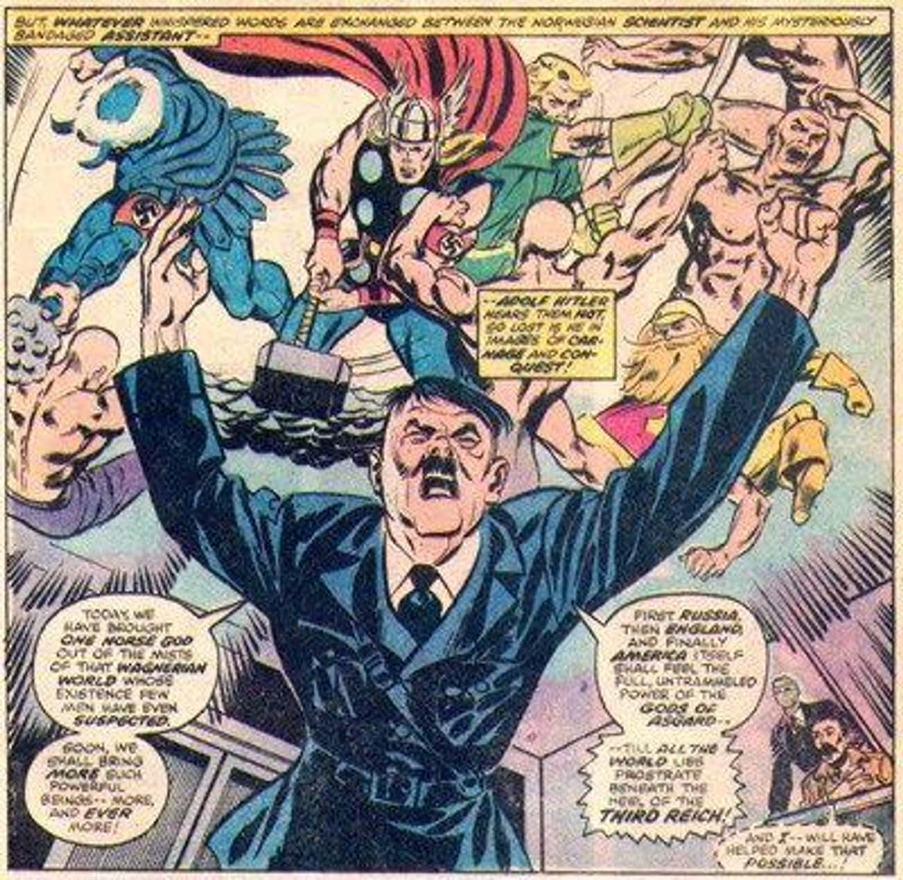 He Teamed Up With Hitler is listed (or ranked) 4 on the list The Most Messed Up Things Thor Has Ever Done In The Comics