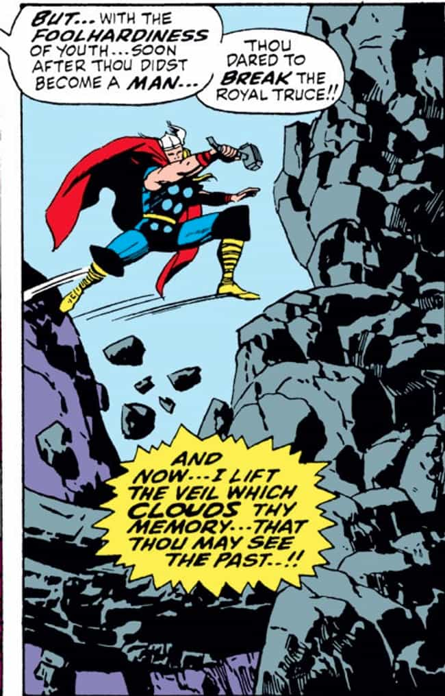 He Immediately Broke An Interg... is listed (or ranked) 2 on the list The Most Messed Up Things Thor Has Ever Done In The Comics