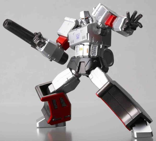 Revoltech Megatron is listed (or ranked) 4 on the list The 20 Best Megatron Toys Ever Made, Ranked