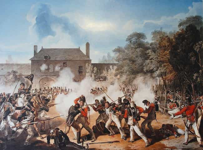 He Launched A Diversionary Att... is listed (or ranked) 5 on the list Why Did Napoleon Lose The Battle Of Waterloo?