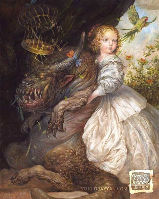 Allegory is listed (or ranked) 4 on the list The Best Paintings By Omar Rayyan