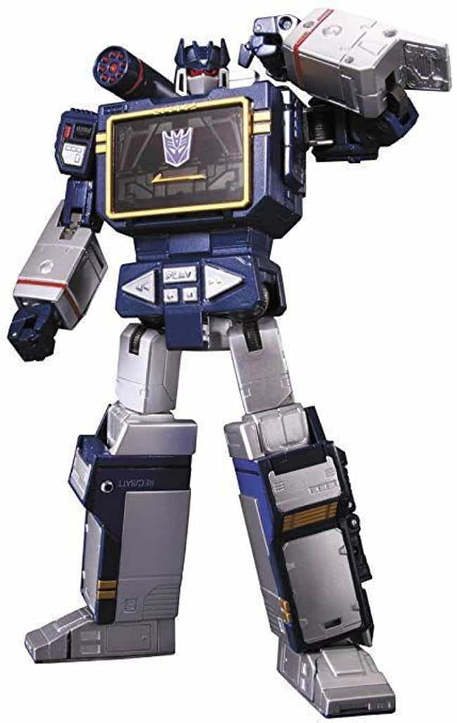 MP-13 Soundwave is listed (or ranked) 1 on the list The Best Transformers Masterpiece Toys
