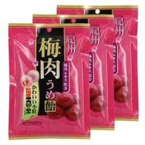 Kishu Bainiku Ume Hard Candy is listed (or ranked) 2 on the list The Coolest Candy From Hawaii