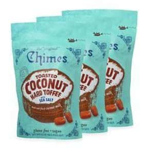 Chimes Toasted Coconut Toffee  is listed (or ranked) 13 on the list The Coolest Candy From Hawaii